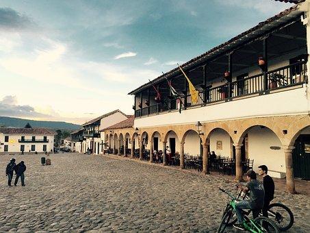 Plaza, Antigua, City, Central, Old, Architecture
