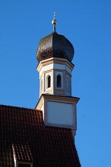 Church, Steeple, Blutenburg, Munich, Obermenzing