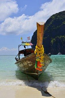 Boat, Krabi, Thailand, Travel
