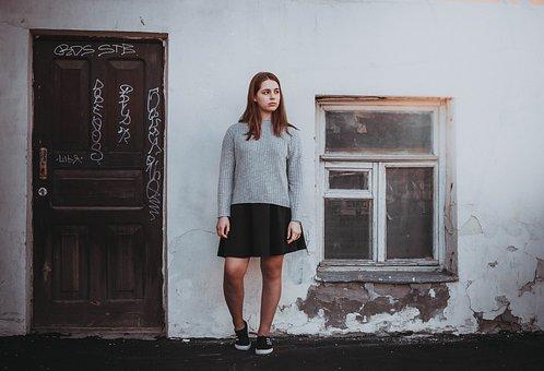 Khitrovka, China Town, House, Window, Door, Girl