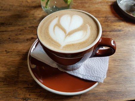 Coffee, Flower, Heart, Coffee Belt, Colombia, Love