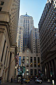 Chicago, Corn Exchange, Skyscraper, Art Deco, Ceres