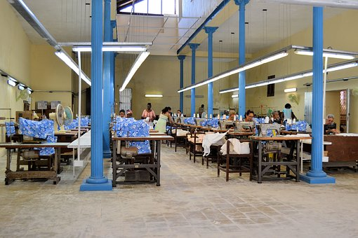 Havana, Cuba, Sewing Factory, Work, Clothing