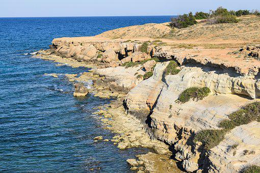 Cliff, Coast, Cove, Beach, Geology, Nature, Formation