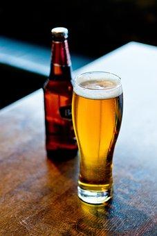 Beer, Bar, Alcohol, Drink, Amber, Glass, Beer Mug