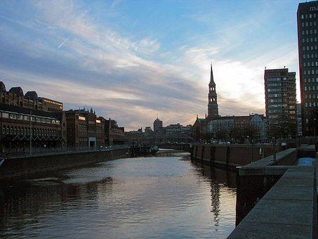 Hamburg, Port, Speicherstadt, Harbour City