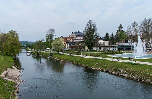 Bad Kissingen, Spa, Bavaria, Healing Water, Holiday