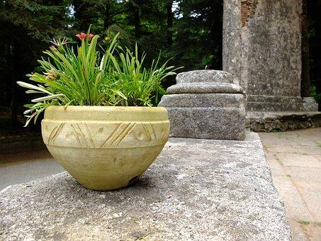 Italy, Calabria, Serra San Bruno, Silent, Stone