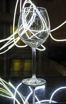 Light Painting, Glass, Color, Painting, Decoration
