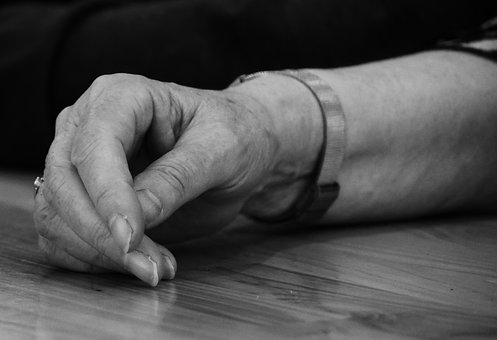 Old, Hand, Fold, Person, Arm