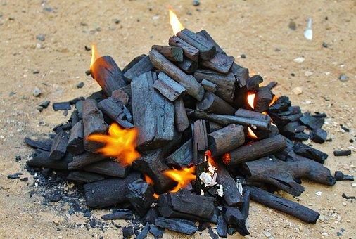 Coal, Fire, Hot, Heat, Flame, Red, Charcoal, Burn