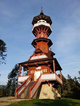 Jurkovič Watchtower, Rožnov Pod Radhoštěm, Wallachia