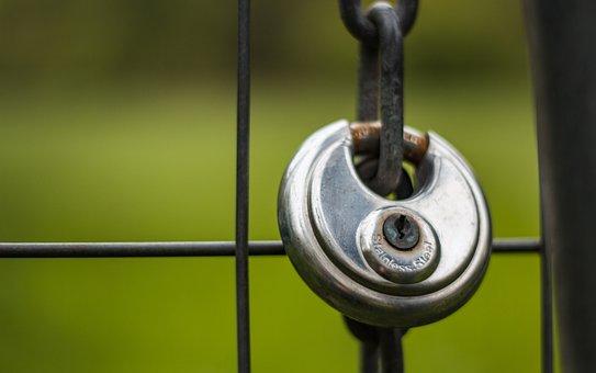 Castle, Padlock, Castles, Grid, Shiny, Shut Off, U-lock