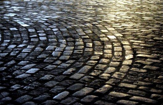 Brick, Road, Street, Texture, Urban, Architecture