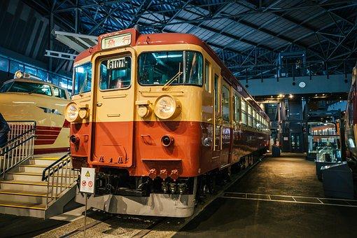 The Tokyo Railway Museum, Train, Tram