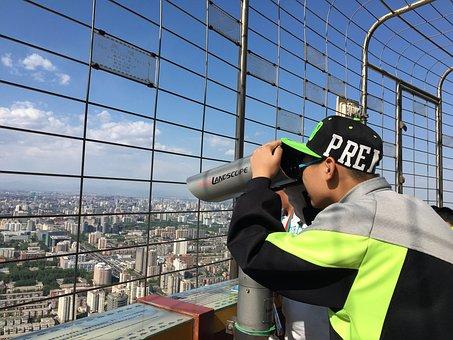 Binoculars, Tower Telecom, Student