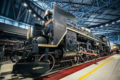 The Tokyo Railway Museum, Train, Steam Locomotive