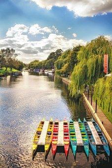 Bidford On Avon, River Avon, Upstream, Waterway