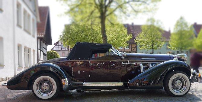 Super Charged, Oldtimer, Beautiful, Auto, Automotive