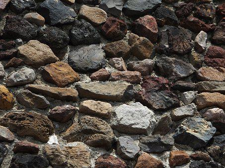 Stones, Wall, Texture, Background, Rough, Weathered