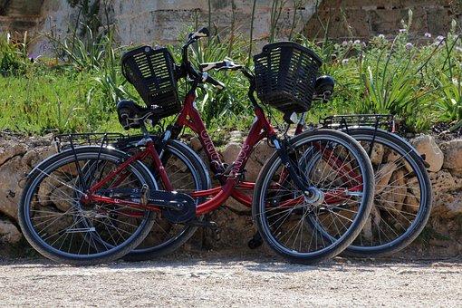 Bikes, Push Bikes, Two, Bicycle, Cycle, Transportation