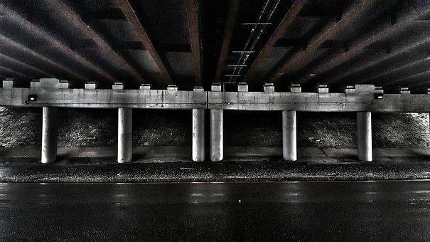 Bridge, Highway, Boston, Medford, Massachusetts