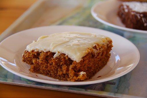 Carrot Cake, Tea, Break, Fika, Coffee Break, Cake