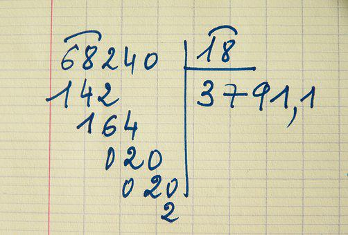 Division, Calculation, Operation, Numbers, Arithmetic
