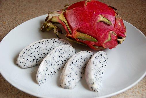 Pitaya, Dragon Fruit, Pitahaya, Fruit, Cactus, Pink