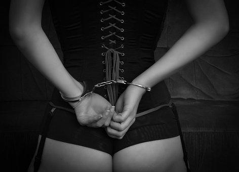Bondage, Bdsm, Corset, Handcuffs, Sexy, Erotic