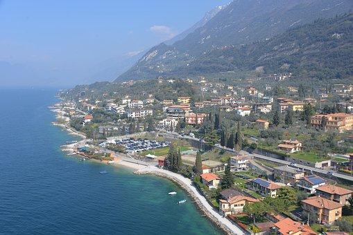 Shore, Garda Lake, Travel, Landscape, Italy, Garda