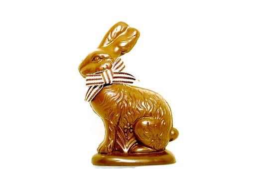 Hare, Deco, Gold, Golden Hare, Decoration, Dekohase