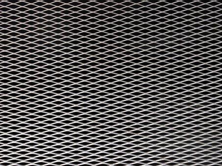 Grid, Sheet, Drawn, Metal, Regularly, Pattern