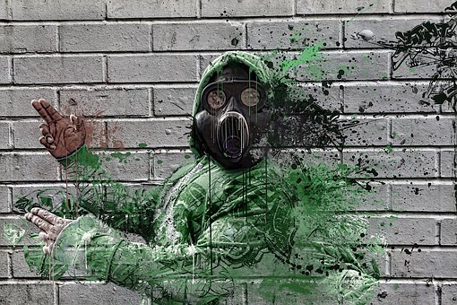 Gas Mask, Hip Hop, Gas, Earth, Mask, Pollution, War