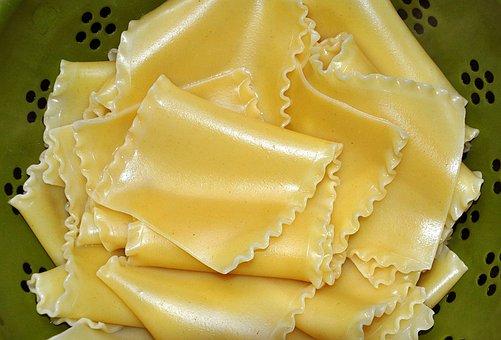 Lasagna, Noodles, Pasta, Food, Italian, Meal, Cuisine
