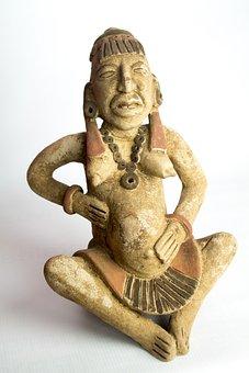 Sculpture, Goddess Maya, Ixchel
