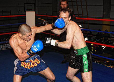 Boxing, Kickboxing, Muay Thai, Combat, Gloves, Ring