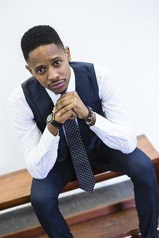Suit, Tie, Male, Gentleman, Professional, Success