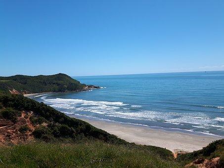 Mar, Beach, Blue, Wave, Waves, Sand, Beira Mar