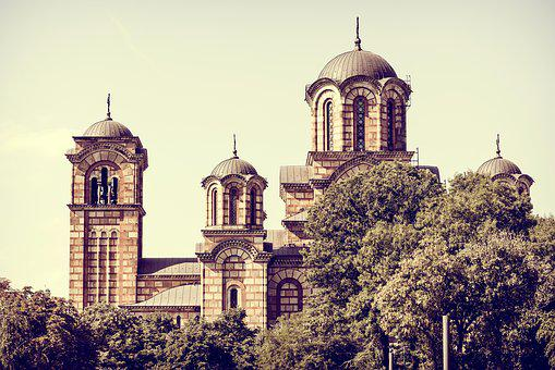 Church, Belgrade, Serbia, St Mark, Mark, St, Tasmajdan