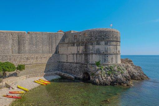 Croatia, Dubrovnik, Mediterranean, Travel, Ancient