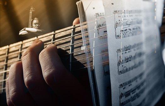 Guitar, Guitarist, Strings, Handle, Music, Play