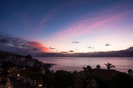 Sky, Sea, Beach, Sunset, Twilight, Nature, Water