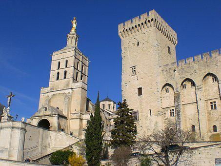 Avignon, Palace Of The Popes, France