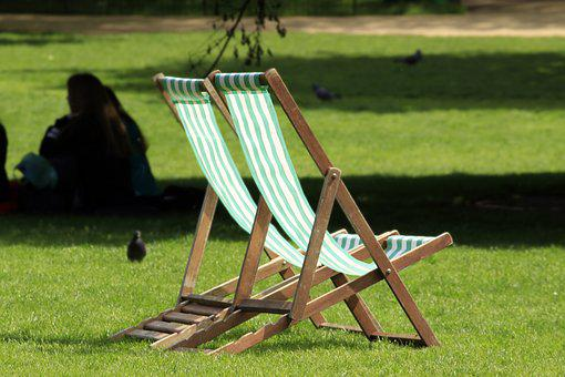 Wooden Chairs, Relax, Saint Jame''s Park