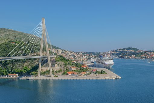 Croatia, Dubrovnik, Landscape, Travel, Sea, Ocean