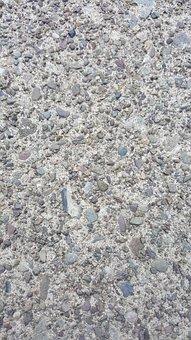 Sidewalk, Concrete, Cement, Surface, Walkway, Rough