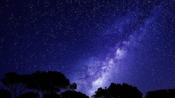 Night Sky, Stars, Background