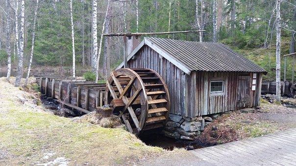 Gnosjö, Tråddrageri, The Water