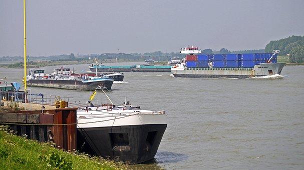 Rhine, Border, Netherlands, Delta, Branch Ijssel, Waal